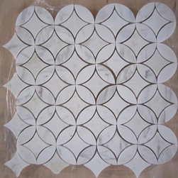 In Stock Collection Water Jet Carrara Patterns - Royal Stone & Tile