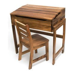 "Lipper International - 25"" W Art Desk and Chair - Just ..."