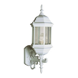 Trans Globe Lighting - Trans Globe Lighting Transitional Outdoor Wall Sconce - Your choice of finishes allows you to create a more custom look and feel on this stylish and traditional Trans Globe Lighting outdoor wall sconce. For added traditional appeal, it also features multiple clear beveled glass panels that allow plenty of light to shine through and pull the look together.