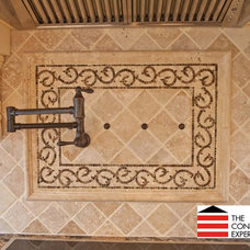 Contemporary Tile by The Construction Experts