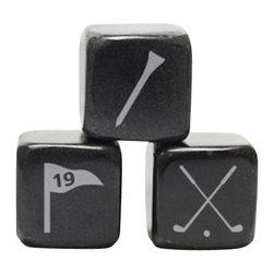 Teroforma - Teroforma - Icon Whisky Stones-Golf, Set of 3 - Drink Iconically!