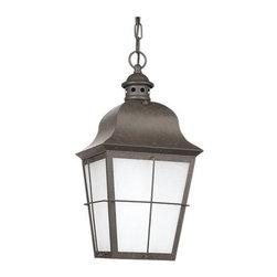 Sea Gull Lighting - Sea Gull Lighting 69272BLE Chatham 1 Light Energy Star Outdoor Pendant - Specifications: