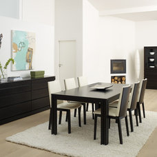 Contemporary Dining Room by Dane Design Contemporary Furniture