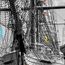 Sample wall decorations - Tall Ships in Boston