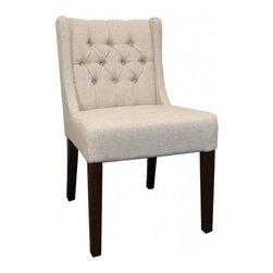 Lauren Low Back Tufted Chair -