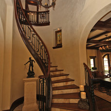 Mediterranean Staircase by The Fechtel Company