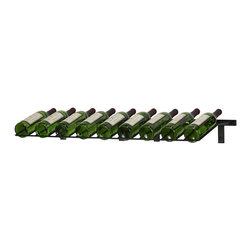 VintageView - VintageView 9 Bottle Presentation Wine Rack, Satin Black - Create a wall wine rack system anywhere. Decorative, reliable and flexible metal wine racks from VintageView. Showcase your wine, not the racks. We are proud to be the best dealer of VintageView products in America, and we back our position with unsurpassed customer service.