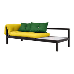 Karup Design - Karup Design Soul Sofabed, Pistachio-Gris - Inspired by the popular 19th century divan sofas, Soul blends classic elegance with contemporary Scandinavian design and brings multifunctionality to modern homes. Easily converting from sofa to bed and back, this practical, space-saving, yet snazzy piece of furniture is the perfect choice whether you are in for an afternoon of captivating reading, a movie marathon, a nap or a good night