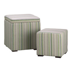 Silk Plants Direct - Silk Plants Direct Stripe Nested Stool (Pack of 1) - Pack of 1. Silk Plants Direct specializes in manufacturing, design and supply of the most life-like, premium quality artificial plants, trees, flowers, arrangements, topiaries and containers for home, office and commercial use. Our Stripe Nested Stool includes the following: