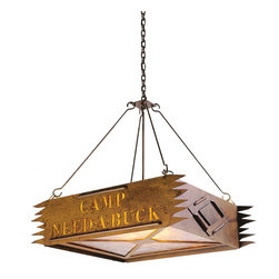 Steel Partners Inc - Chandelier - CAMP (Personalized) - Every piece we create is unique — handcrafted at our factory in Chehalis, Washington, USA. Due to this, lead times are 2 to 4 weeks.