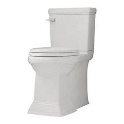 American Standard - American Standard Town Square FloWise Toilet Tank, White (4216.128.020) - American Standard 4216.128.020 Town Square Flowise Toilet Tank, White