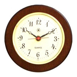 Bey-Berk International Brass Clock on Cherry Wood - Tarnish Proof - Traditional in style, the Bey-Berk International Brass Clock on Cherry Wood T.P. will be a lovely accent in your home or office. With easy-to-read Arabic numerals, this clock is a well-made, attractive timepiece. It has a battery-powered analog quartz-movement, plus a solid brass, tarnish-proof bezel and a cherry wood frame.About Bey-Berk InternationalThis quality item is created by Bey-Berk. For more than 20 years, Bey-Berk International has crafted and hand-selected unique gifts and accessories from around the world to meet the demands of discerning customers. With its line of elegant and distinctive products, Bey-Berk has established itself as a leader in luxury accessories.