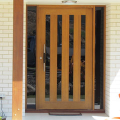 modern front doors by The Door Keeper