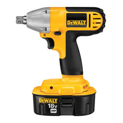 "Dewalt - 18V 1/2In Impact Wrench - Variable speed trigger and electric brake provide control for tightening and loosening fasteners, durable all-metal gear case and transmission, max torque provides power to perform a wide range of fastening applications, textured ant-slip comfort, heavy d  uty impact mechanism directs torque to fastener without kickback, compatible with Dewalt 18V System and works with all 18V Dewalt batteries (XRP,NANO and Compact). Specs: 18V,no load speed is 0-2,100RPM, impacts/min. is 0-3,000IPM, 1,920 in/lbs max torque  , 160 in/lbs max torque, 7-5/8"" long, weighs 5.3lbs. Includes: (1) one hour charger,(2) 18V XRP batteries, kit box.      This item cannot be shipped to APO/FPO addresses.  Please accept our apologies"