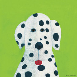 Oopsy Daisy - Clementine Canvas Wall Art - Dalmatian Canvas Reproduction