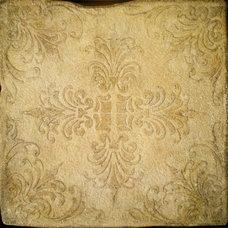 Mediterranean Floor Tiles by Filmore Clark