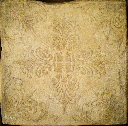 Mediterranean Wall And Floor Tile by Filmore Clark