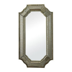 Sterling Industries - Sterling Industries 114-16 Heavy Glass Frame Mirrors in Antique Mirror And Antiq - This Mirror from the Heavy Glass Frame collection by Sterling will enhance your home with a perfect mix of form and function. The features include a Antique Mirror and Antique Silver  finish applied by experts. This item qualifies for free shipping!