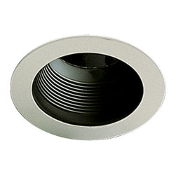 "Quorum International - Quorum 9500-015 5"" Stepped Baffle - Bk - Quorum 9500-015 5"" Stepped Baffle - Bk"
