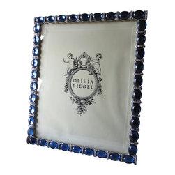"Olivia Riegel - Olivia Riegel Blue Essex Swarovski Crystal Photo Frame 8"" x 10"" - Olivia Riegel Blue Essex Swarovski Crystal Photo Frame 8"" x 10"""
