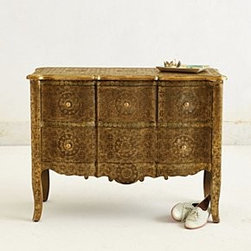 Anthropologie - Hand-Embossed Dresser - *Four drawers
