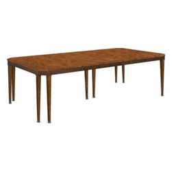 140-71-Artisan Chamfered Corner Mahogany Dining Table -