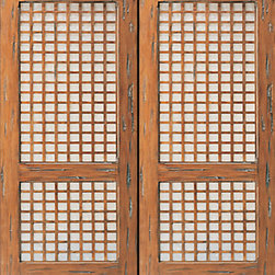 "Capis Prehung Double Door with Lattice Style Solid Mahogany - SKU#    31-South Pacific_2Brand    AAWDoor Type    ExteriorManufacturer Collection    International Collection Exterior DoorsDoor Model    Door Material    WoodWoodgrain    MahoganyVeneer    Price    3060Door Size Options    2(30"") x Height"" (5'-0"" x 6'-8"")  $02(32"") x Height"" (5'-4"" x 6'-8"")  $02(36"") x Height"" (6'-0"" x 6'-8"")  +$602(42"") x Height"" (7'-0"" x 6'-8"")  +$5002(36"") x Height"" (6'-0"" x 7'-0"")  +$3602(30"") x Height"" (5'-0"" x 8'-0"")  +$5802(32"") x Height"" (5'-4"" x 8'-0"")  +$5802(36"") x Height"" (6'-0"" x 8'-0"")  +$6602(42"") x Height"" (7'-0"" x 8'-0"")  +$660Core Type    SolidDoor Style    LatticeDoor Lite Style    Door Panel Style    Home Style Matching    Door Construction    Solid Stiles and RailsPrehanging Options    PrehungPrehung Configuration    Double DoorDoor Thickness (Inches)    1.75Glass Thickness (Inches)    Glass Type    Glass Caming    Glass Features    Glass Style    Glass Texture    Glass Obscurity    Door Features    Door Approvals    Door Finishes    Door Accessories    Weight (lbs)    850Crating Size    25"" (w)x 108"" (l)x 52"" (h)Lead Time    Slab Doors: 7 daysPrehung:14 daysPrefinished, PreHung:21 daysWarranty    1 Year Limited Manufacturer WarrantyHere you can download warranty PDF document."