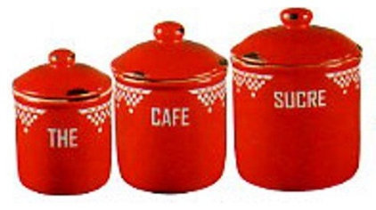 Traditional Kitchen Canisters And Jars by American Country Home Store