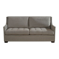 "Bentley Churchill - Brinkley Sofa - Overall Dimensions: Height: 38 "" Width: 80"" Depth: 39"""