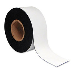 MasterVision - MasterVision 3 in. x 50 ft. Magnetic Dry Erase Tape Roll Multicolor - BVCFM2218 - Shop for Magnetic Boards and Supplies from Hayneedle.com! You ll love the convenience of the MasterVision 3 in. x 50 ft. Magnetic Dry Erase Tape Roll. With the help of this magnetic tape roll you can easily coordinate schedules or projects. Organize your planning board with the help of this rewriteable magnetic tape roll. Tape can be cut to the desired length for greater usability and convenience. A written message on the label can be wiped and rewritten. This white-colored tape roll is a must-have for easy planning.About United StationersDedicated to making life in the office more organized efficient and easier United Stationers offers a wide variety of storage and organizational solutions for any business setting. With premium products specifically designed with the modern office in mind we're certain you will find the solution you are looking for.From rolling file carts to stationary wall files every product in the United Stations line is designed with one simple goal: to improve office efficiency. In turn you will find increased productivity happier more organized employees and an office setting that simply runs better with the ultimate goal of increasing bottom line profits.