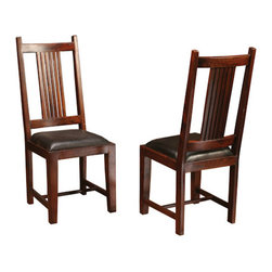 Four Hands - Provence Dining Chair with Leather Seat -