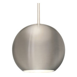 WAC Lighting - WAC Lighting QP953 1 Light Down Lighting Quick Connect Pendant from the Stadt Co - WAC Lighting QP953 Contemporary / Modern 1 Light Down Lighting Quick Connect Pendant from the Stadt CollectionStadt, a spun metal spherical shade, is a modern pendant rooted in the minimalist look of many of today's contemporary appliances and fixtures.Specifications: