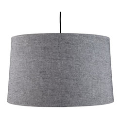 Weegee Pendant Lamp, Penguin Tweed