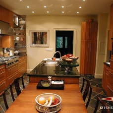 Contemporary Kitchen Cabinetry by Kitchen Court