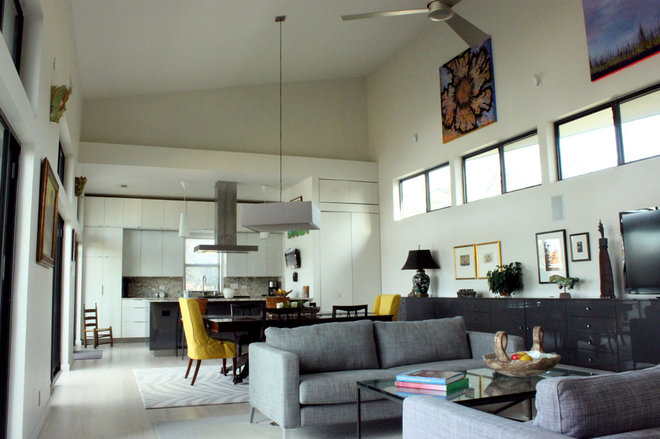 Contemporary Living Room by Adam Breaux