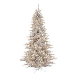 "Vickerman K126866 Silver Fir Trees Christmas Tree (with lights) - Get 10% discount on your first order. Coupon code: ""houzz"". Order today."