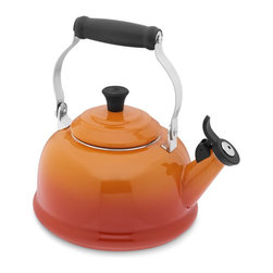 Le Creuset Teakettle - A high quality teakettle in a really bright color is such an eye-catching piece. Leave it sitting on your stove at all times to maintain a constant pop of color in your kitchen.