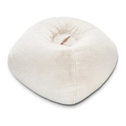 Ace Bayou 098 Fur Bean Bag Lounger - Polar Bear - Cool white comfort, the Ace Bayou 098 Fur Bean Bag Lounger - Polar Bear is a super-stylish take on the traditional bean bag. Filled with cushy polystyrene beads, this plush faux fur bean bag is double stitched for durability and ergonomically designed for comfort. Ideal for relaxing, reading a book, gaming, or watching TV. A great gift for someone, this bean bag will be a welcome addition to any kid's or teen's room.About Ace Bayou CorporationAce Bayou Corporation was founded in 1986 and has grown into a group of diverse, lifestyle-focused divisions. They all feature innovative, quality products at prices that allow everyone to enjoy the benefits. Their lifestyle furniture division features youth and adult casual furniture, including unique bean bags, video rockers, recliners, and special seating products. As a recognized innovator in these categories, Ace Bayou provides products that fit your lifestyle.