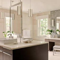 Contemporary  by Leslie Fine Interiors