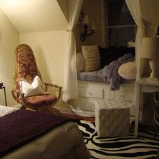 Traditional Bedroom by Stephanie Tuliglowski