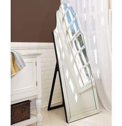Traditional Floor Mirrors by Pottery Barn