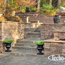 Contemporary Retainer Walls by Techo-Bloc