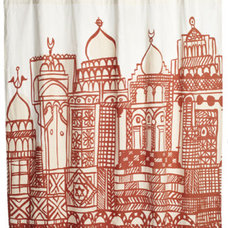 Eclectic Shower Curtains by John Robshaw Textiles