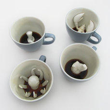 modern mugs by Etsy
