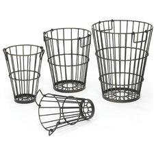 Industrial Baskets by Indeed Decor