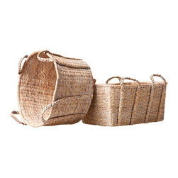 Privet House Whitewashed Baskets - I've seen the spitting image of these baskets selling for at least twice the price. I'd stock up on these as, in my experience, you can always use more of them around the house.