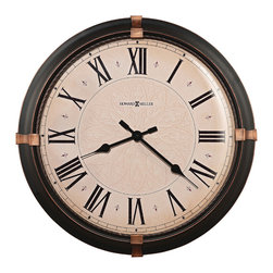 "Howard miller - Howard Miller 24"" Wall Clock 