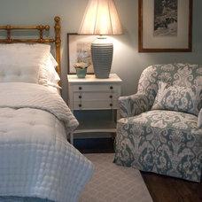 Traditional Bedroom by Elizabeth Hagins Interior Design
