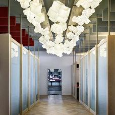 Modern Entry by Galilee Lighting