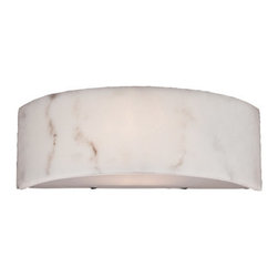 Eurofase Lighting - Eurofase Lighting 20373 1 Light Wall Washer Sconce Dervish Collection - Transitional 1 Light Wall Washer Sconce from the Dervish CollectionConcentric curved panels form a drum shade. The pieces are spaced giving the illusion that they are floating in alignment.Features: